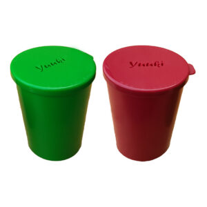Yuuki rengøringskop grøn/rød