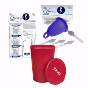 """Menstruationskop rengøring """"All You Need"""""""