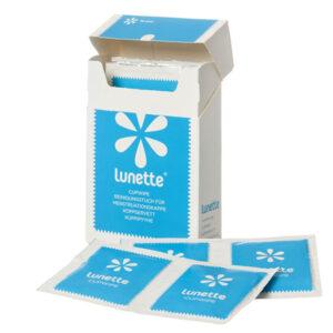 Lunette cupwipe